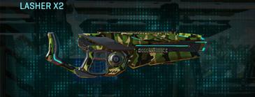 Jungle forest heavy gun lasher x2