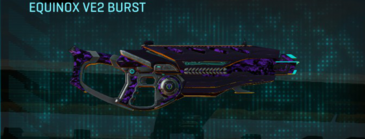Vs digital assault rifle equinox ve2 burst