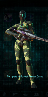 Vs temperate forest infiltrator