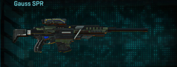 Amerish scrub sniper rifle gauss spr
