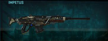 Woodland sniper rifle impetus
