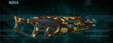 India scrub shotgun nova