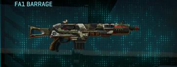 Woodland shotgun fa1 barrage