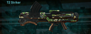 African forest rocket launcher t2 striker