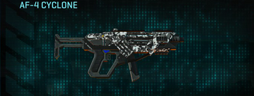 Snow aspen forest smg af-4 cyclone