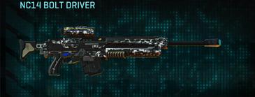 Snow aspen forest sniper rifle nc14 bolt driver