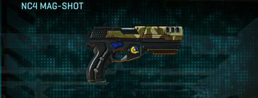 India scrub pistol nc4 mag-shot