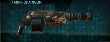 Woodland heavy gun t7 mini-chaingun