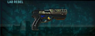 Woodland pistol la8 rebel