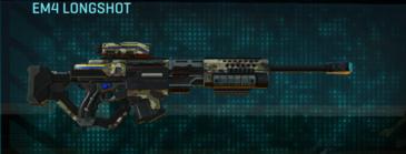 Woodland sniper rifle em4 longshot