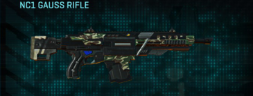 Scrub forest assault rifle nc1 gauss rifle