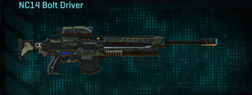 Amerish scrub sniper rifle nc14 bolt driver