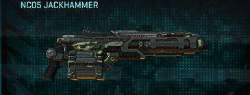 Temperate forest heavy gun nc05 jackhammer