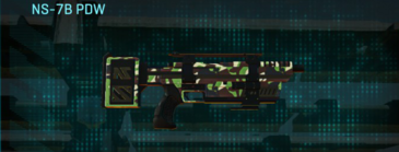 African forest smg ns-7b pdw