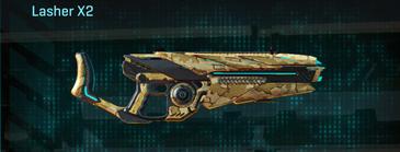 Sandy scrub heavy gun lasher x2