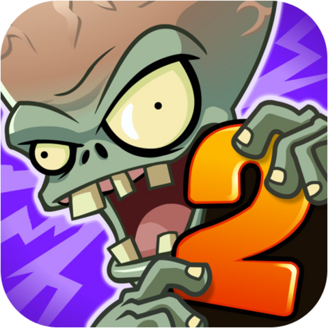 File:Plants Vs. Zombies™ 2 It's About Time Icon (Versions 1.9 to 2.0).png