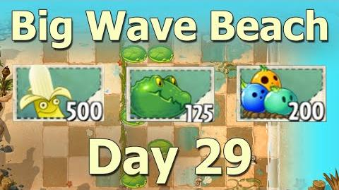 Big Wave Beach Day 29 - Plants vs Zombies 2