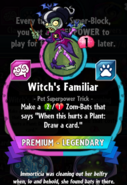 Witch's Familiar statistics