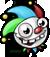 Zombie jackbox clownhead