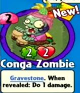 Receiving Conga Zombie
