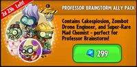 Professor Brainstorm Ally Pack Promotion