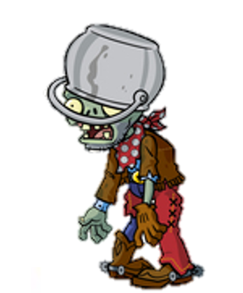 File:HD Buckethead Cowboy Zombie.png
