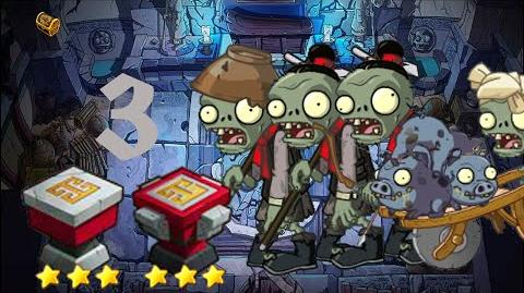 PvZ Online - Adventure Mode - Mausoleum Advent 3
