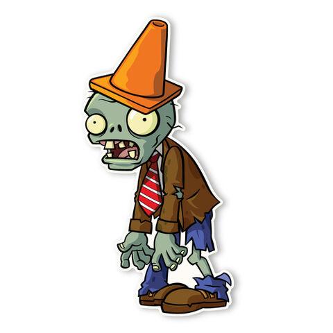 File:Conehead Zombie.jpg