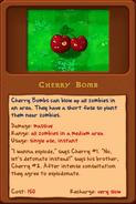 New Cherry bomb almanac