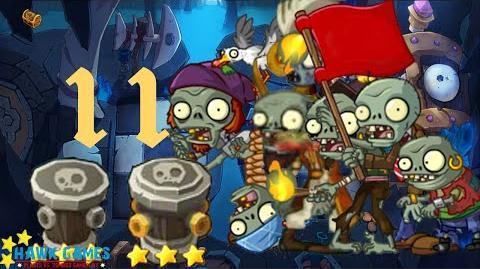 PvZ Online - Adventure Mode - Treasure Cave 11