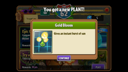 Gold Bloom Unlocked