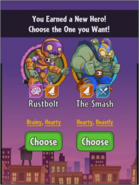 Choice between The Smash and Rustbolt