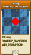 New Flamethrower icon