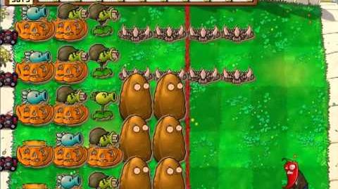 Plants Vs Zombies - Zombies HP Test