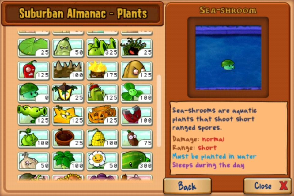 Talk:Sea-shroom | Plants vs. Zombies Wiki | FANDOM powered ...
