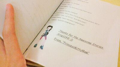 Ariq1144's Fanfics - PKMae's Message
