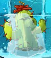 Frozen Armed Cactus