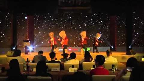 Plants vs Zombies All Star trailer Zombies Dance EA press conference of May 6, 2014