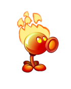Flaming Pea PvZ2(3)