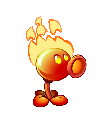 Image - Flaming Pea PvZ2(3).png | Plants vs. Zombies Wiki ...