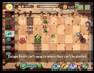 Escape Root message 2