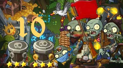 PvZ Online - Adventure Mode - Treasure Island 10