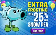 Extra Frosting. Over 25% Off Sow Pea. Buy Now