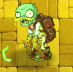 Adventurer Zombie (Carrying Plant Food)