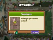 Snapdragon Easter Costume Obtained
