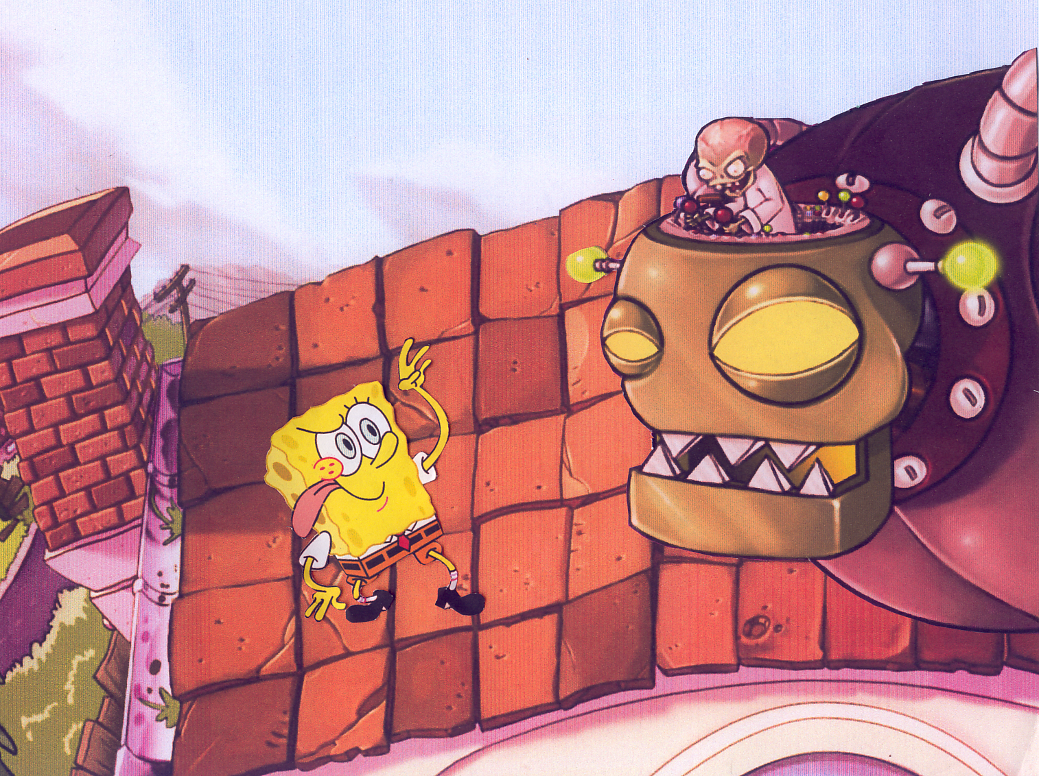 spongebob vs ollantay center for the arts an mugen request 482 new spongebob vs old spongebob double match