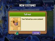 Getting Tall-nut's Summer Costume
