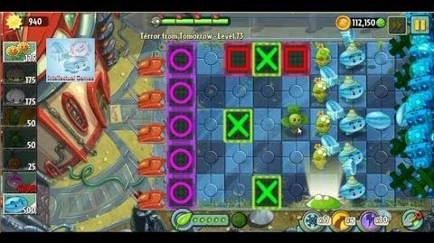 Blover&Spring Bean vs all Zombies in Terror from future - Plants vs Zombies 2