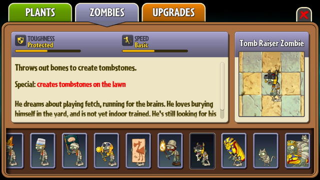File:Tomb Raiser Zombie Almanac Entry.png