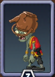 Buckethead Monk Zombie Almanac Icon
